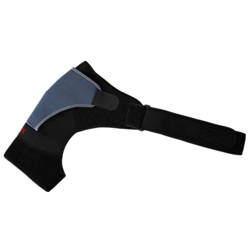 Sırt desteği ayarlanabilir bandaj koruyucu takviyeli fonksiyonel eğitim ekipmanları tek omuz askısı spor yaralanma önleme