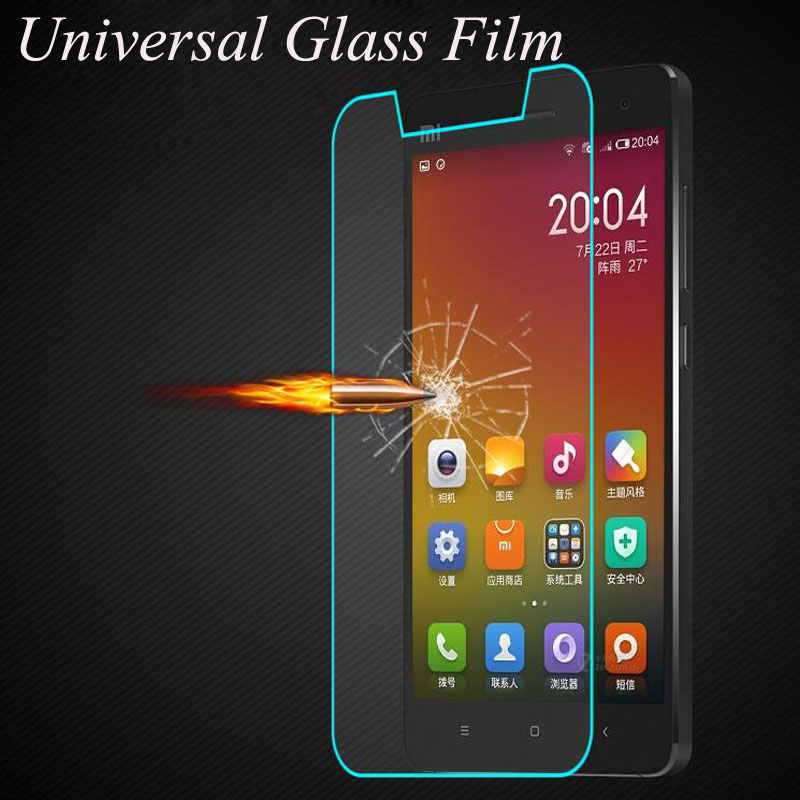 Premium 2.5D 9H Universal Tempered Glass For Smartphone Without Home Key For ZTE For Xiaomi For Huawei For Lenovo For Meizu smartphone