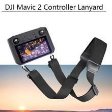 Adjustable 5.5-inch Lanyard with Screem Remote Buckle Neck Shoulder Strap for DJI Smart Controller Mavic 2 Pro Zoom Hang Sling все цены