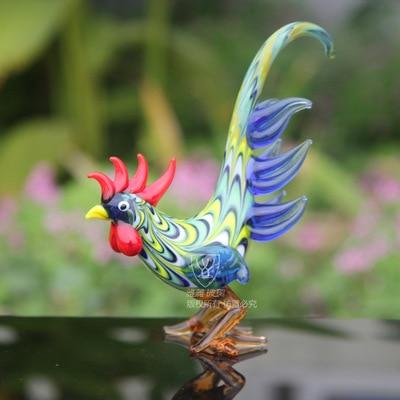 Oselif handmade 3d mascot chicken glass crafts gift box wedding oselif handmade 3d mascot chicken glass crafts gift box wedding decoration home decor junglespirit Images