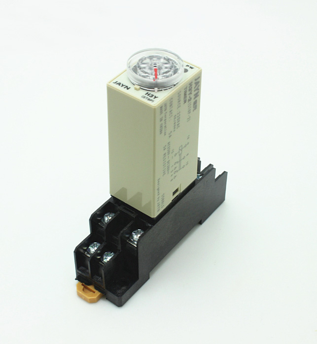 H3Y-2 Delay Timer Time Relay With Base