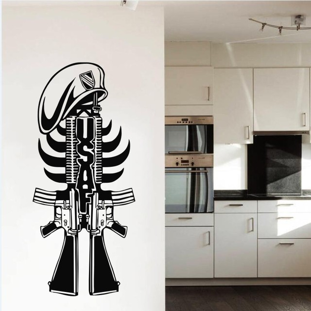 Military American Weapon Cool Wall Poster Home Bedroom Art Coolest ...