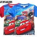 Мультфильм автомобили майка мальчики летние детская одежда детей девочек-подростков Топы NEXT бренд фабрики сразу подросток одежда