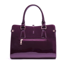 New 2017 Fashion Women PU Leather Shoulder Bags Ladies Patent Crossbody Bag Brand Luxury Handbags Women Bags Designer