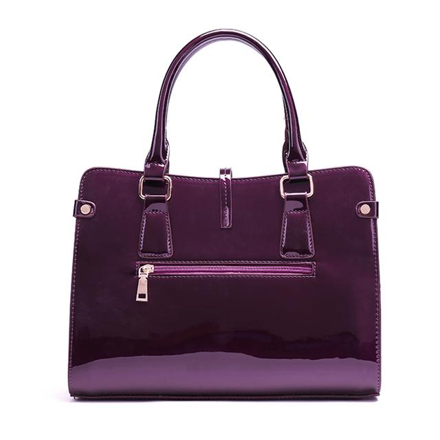 New 2020 Fashion Women PU Leather Shoulder Bags Ladies Patent Crossbody Bag Brand Luxury Handbags Women Bags Designer