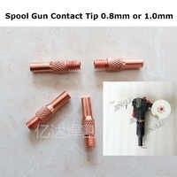 Punta de contacto para Mig Gun carrete Gun NBC-200A 10 piezas