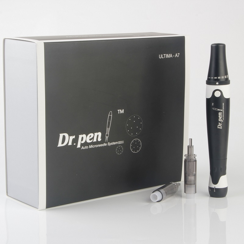 Portable Micro Auto Pen Wrinkle Remover  Professional Grow Kit Therapy System Electric Derma Rolling