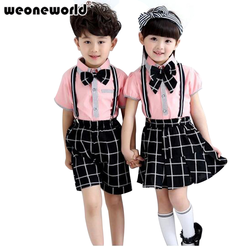 Weoneworld 2018 Summer Korean Fashion Childrens Sets Baby -4320