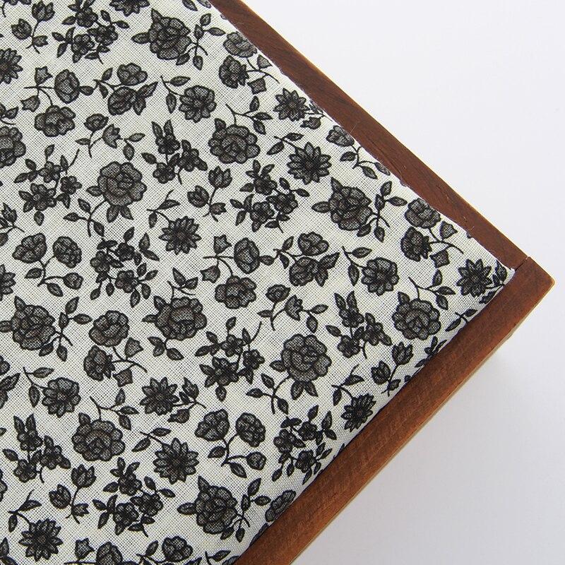 2015 Nuevo Estilo de Impresión de Tela de Algodón Patrón de Flores Gris Patchwor