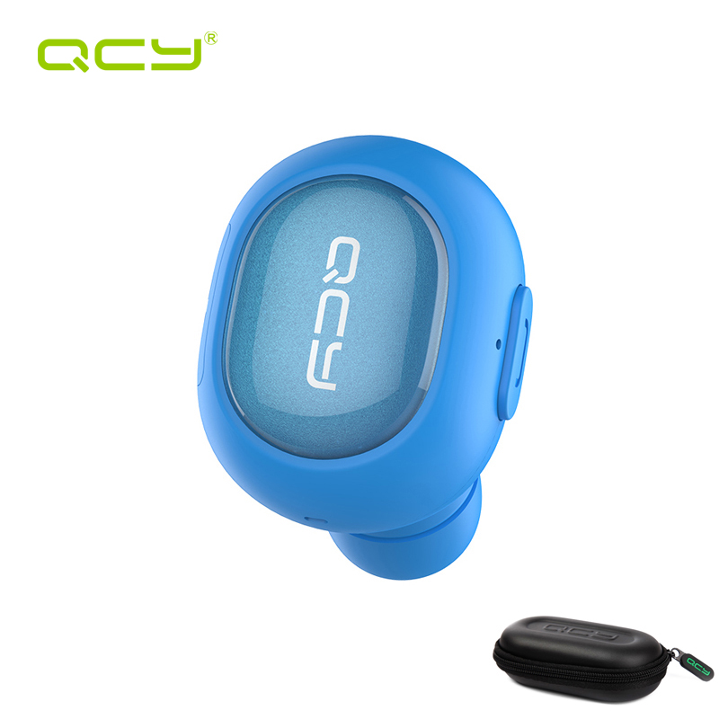 QCY sets Q26 mini invisible car calls earphone wireless bluetooth headphone headset and portable storage box qcy sets q26 mini business headset car calling wireless headphone bluetooth earphone with mic for iphone 5 6 7 android