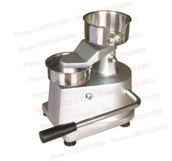 Free shipping~Manual hamburger patty forming machine, bakemeat former, meat pie maker manual stainless steel hamburger patty