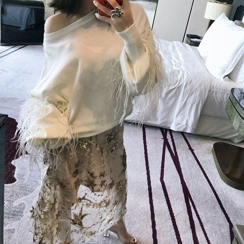 Nuevas Tiempo Elegantes Para Línea La Oro Tobillo Diseñador Pista Falda Mucho Mujeres Estrellas Del Las Casual Faldas De Mujer Lentejuelas Una Longitud Durante 2019 dx4f8qd