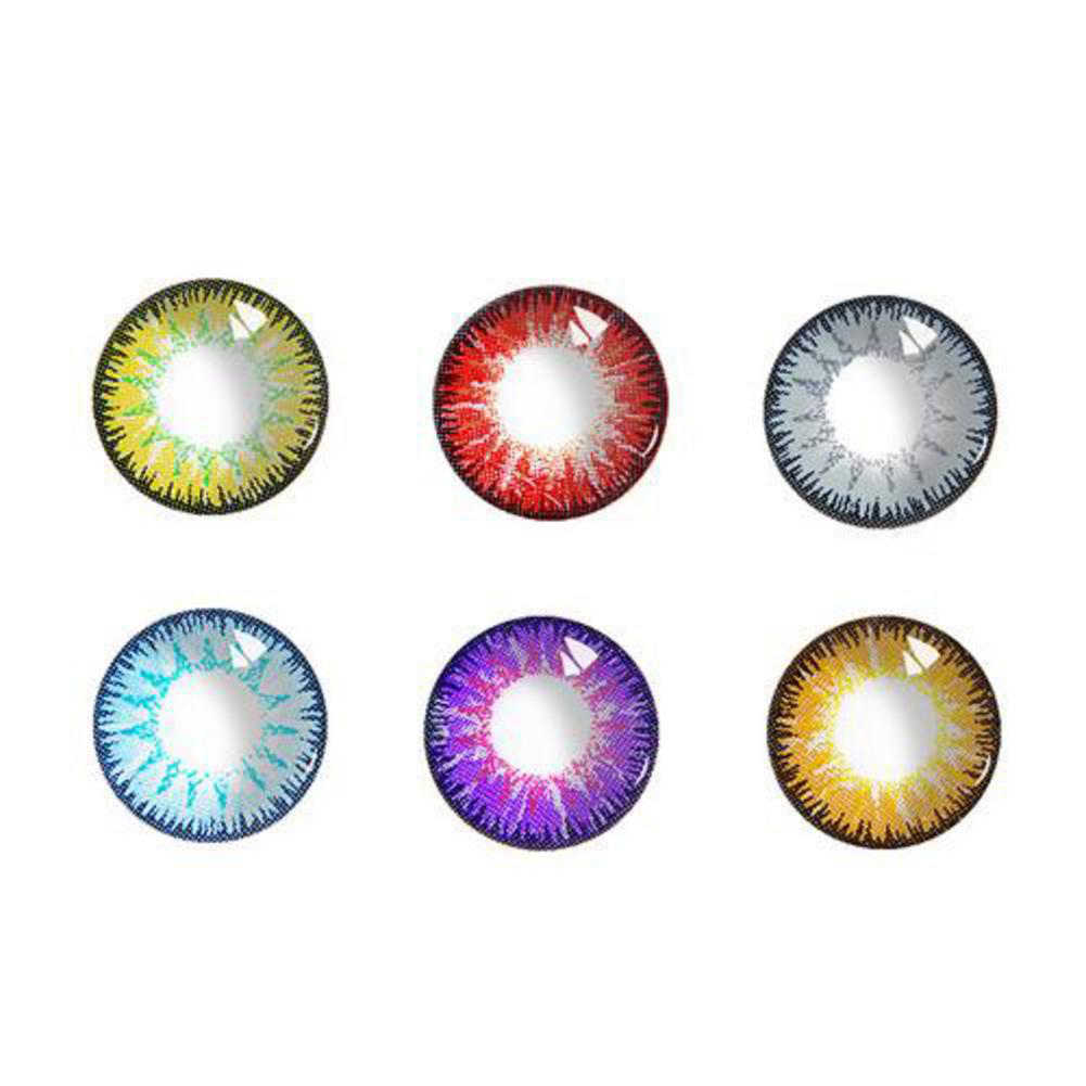 Halloween Vega Series Siz Lens Mixed Blood Diameter Beauty DIY Cosplay Eye Decoration Tool Colorful Invisible Party Supplies