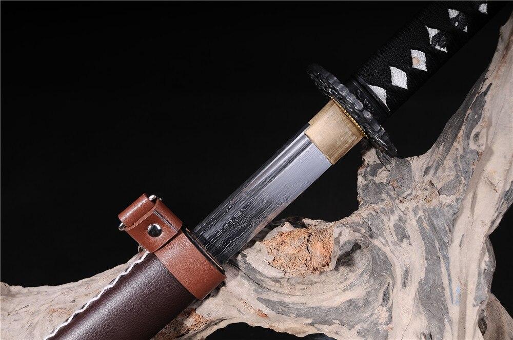 əl istehsalı samuray yapon qılıncları katana funksional zombi - Ev dekoru - Fotoqrafiya 6