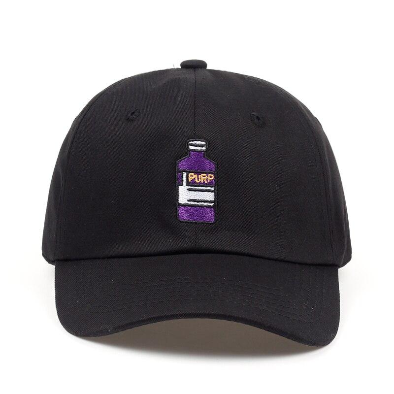 2018 new brand   baseball     cap   Violet Adult Bottle Embroidered Dad Hat men women Hip hop fashion snapback   cap   hats wholesale