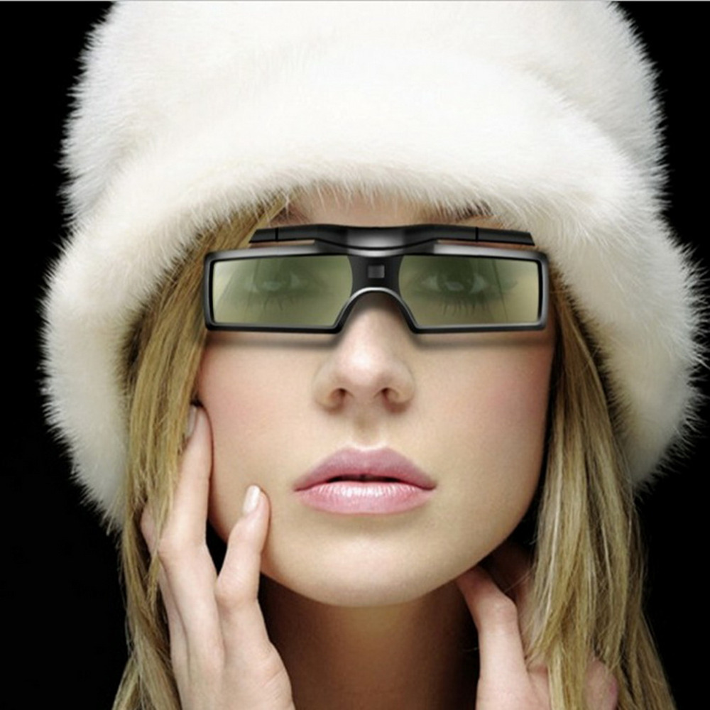 1pc G15-DLP 3D Active Shutter Glasses For DLP-LINK DLP Link Projectors 96-144Hz Hot Worldwide dropshipping холодный тв coolux dlp link активным затвором 3d очки прохладно тв проектор генеральный