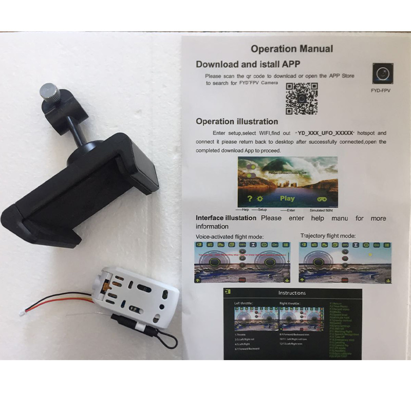 Remote Control 2MP wifi cam FY602 F504 S5 S10 X5C-1 Toy Accessories RC Helicopter phone stand Manual gift drone with HD camera yizhan i8h 4axis professiona rc drone wifi fpv hd camera video remote control toys quadcopter helicopter aircraft plane toy