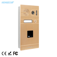 HOMSECUR 110 grad Wasserdichte Outdoor Kamera Einheit mit Fingerprint 1.3MP BC061HD G Für HDK Serie Tür Telefon System-in Türsprechanlage aus Sicherheit und Schutz bei