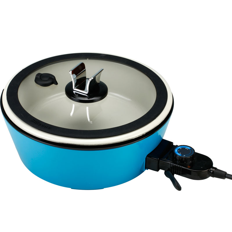 220V/1500W Multifunction Electric Hot Pot Ceramic Electric Cooker Non-stick ELectric Frying Pan Can Braise Steam Fried Stew Boil cukyi household electric multi function cooker 220v stainless steel colorful stew cook steam machine 5 in 1
