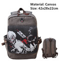 Tokyo Ghouls Ken Kaneki Anime Canvas Backpack Shoulder Bag Laptop Bag School Bag