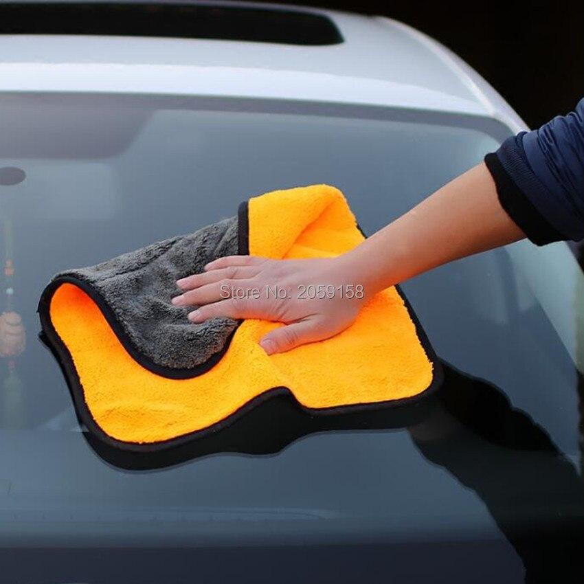 Lavage de voiture serviette en microfibre nettoyage de voiture chiffon de séchage pour skoda octavia chevrolet captiva mercedes mazda 6 2014 golf mk7 amg