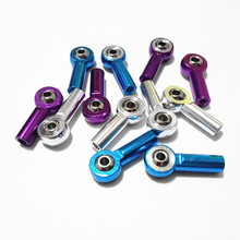 4pcs M3 Aluminum Link Rod End Ball Joint for 1/10 RC Car