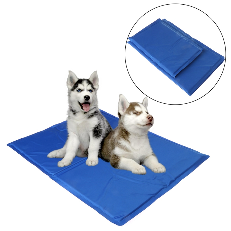 NEW Pet Cooling Pad Summer Gel Mat Bed Cooler Canine Dog Cat Non Toxic Ester Cushion ...