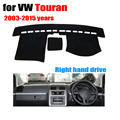 Car dashboard covers mat for Volkswagen VW TOURAN 2003-2015 years Right hand drive dashmat pad dash cover dashboard accessories