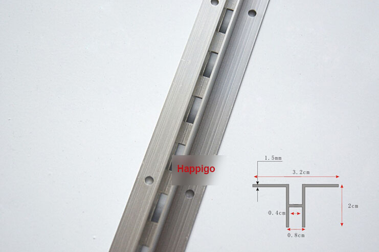 2.4 Meters AA rails single row column aluminium bar DIY shelf track furniture accessories видеоигра бука saints row iv re elected