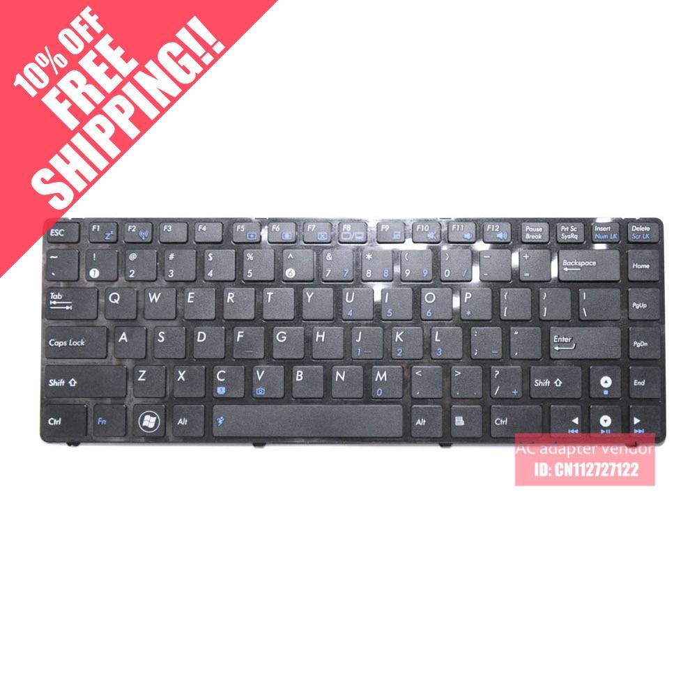 The new FOR ASUS X43B X43U K43T K43B X43BY K43TY laptop keyboard English