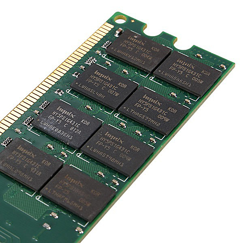 2PCS 4GB Desktop RAM with DDR2 Memory Type and 800 MHZ Memory Speed 1