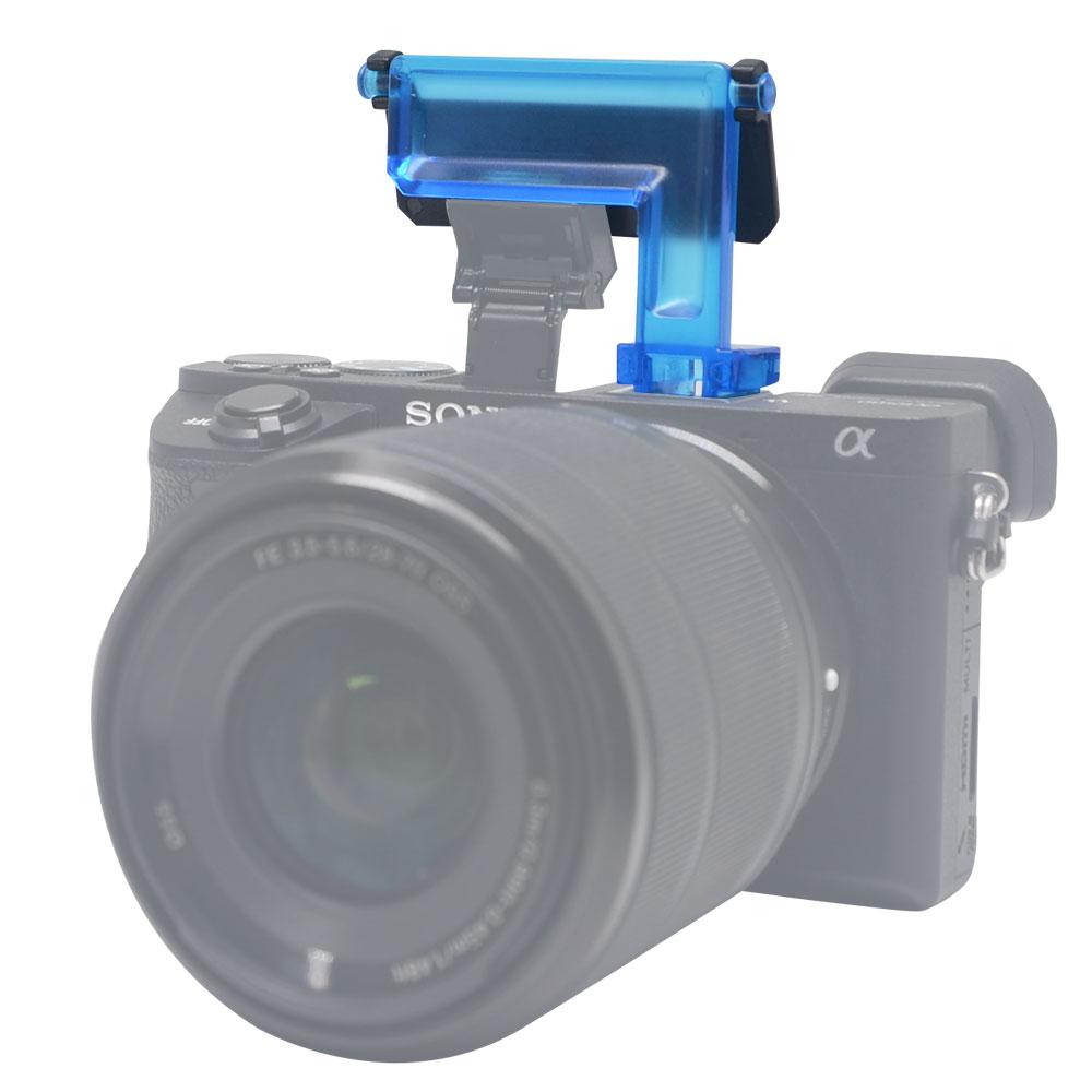 Sony A6500 A6300 A6000 NEX6 Kamera üçün Mcoplus 4 rəngli diffuzor - Kamera və foto - Fotoqrafiya 5