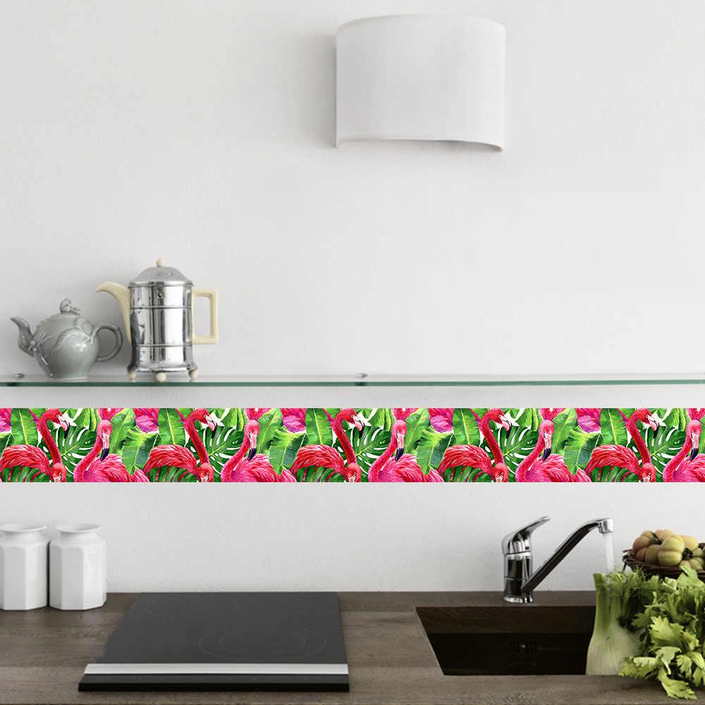 Funlife Flamingo Tropical Wallpaper