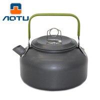 מיני נייד חיצוני קומקום קשה רב תכליתי קמפינג סיר תה תה סיר סיר קנקן קפה DSO8 0.8L