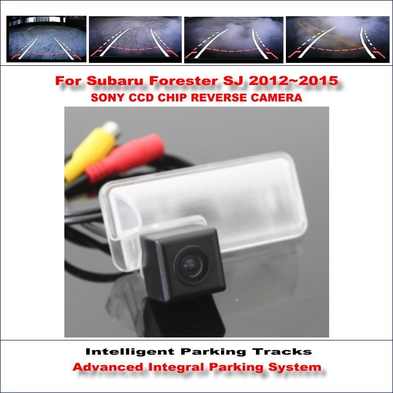 Camera For Subaru Forester SJ / Legacy / Liberty Intelligent Parking Tracks Reverse 580 TV Lines Dynamic Guidance Tragectory