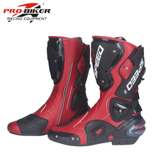 2018 Best Selling Leather Motorcycle Boots / Riding Tribal Boots / Racing Shoes / Riding Boots PRO-BIKER B1001
