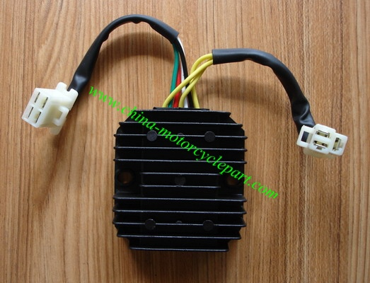 online buy whole atv voltage regulator from atv voltage scooter moped atv gy6 125 150 cc 152qmi 15qmj voltage regulator rectifier 3 phrase