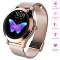 Женские Смарт-часы KW10  IP68 водонепроницаемый спортивный фитнес-трекер  мониторинг сердечного ритма  Bluetooth  женские Смарт-часы  браслет