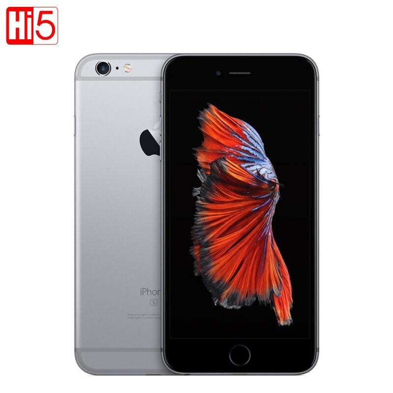 Открыл Apple IPhone 6S 4 К Dual Core 2 ГБ Оперативная память 16/64/128 ГБ Встроенная память 4,7 iOS LTE 12.0MP используется мобильный телефон смартфон Бесплатная до...