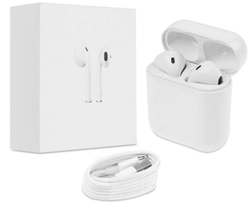 Bluetooth 5,0 Doppel ohr IFANS Earbuds Kopfhörer Drahtlose Air Headsets schoten mit mic für IPhone 8 7 Plus 6 s android Dropshipping