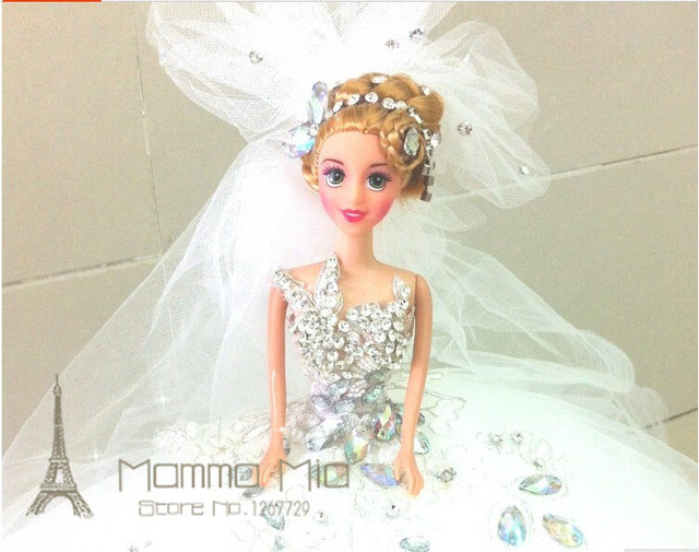 Mamma Mia Pure Handmade Girls Dream Bride Doll Elaborate Gifts