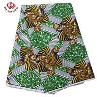 New Women Child Clothing Dress Windmill Fabric African Wax Print Fabric Super Wax Hollandais Ankara African