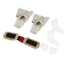 7PCS/SET Comfortable Men Women Straighten Bent Toe Separators Elastic Corrector Stretchers Tool new