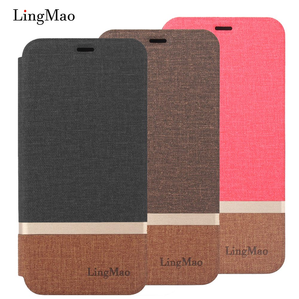 Globale Version Original Hand Made für Xiaomi Redmi 4X3 gb 32 gb <font><b>Smartphone</b></font> Snapdragon 435 Octa Core Haut flip-Cover brieftasche Fall image