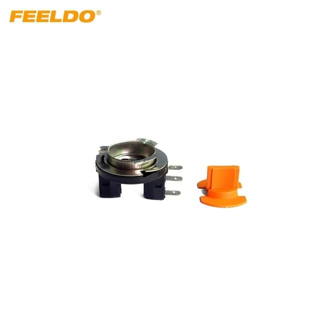 feeldo 2pcs car h15 dit led bulb socket for fog daytime running rh aliexpress com Automotive Wiring Harness Wiring Harness Diagram