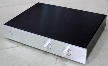 WA12 Aluminum Powr amplifier chassis amp Enclosure preamp case Box size 313*425*70mm