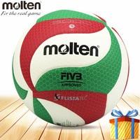 Molten volleyball ball voleibol official V5M5000 Compitition size 5 PU material pallavolo topu voleyball bola de volei
