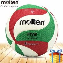 Bola de voleibol fundido v5m5000 compitition oficial tamanho 5 material do plutônio pallavolo topu voleibol bola de voleibol