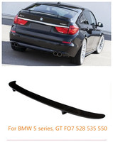 JIOYNG 100%Carbon Fiber Car Rear Wing Trunk Lip Spoilers Fits For BMW 5 Series GT F07 528 535 550 2010 2017