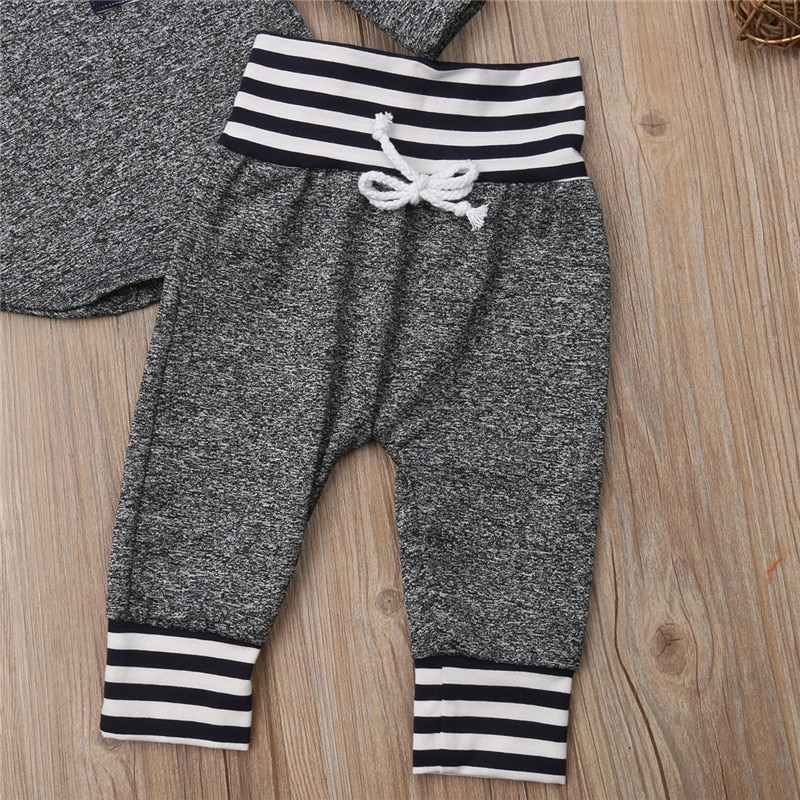 Baby Tracksuit baby boy clothes christmas bebe newborn baby girl clothes Set Kid Newborn Hoodies Pant 2 Pcs Outfits